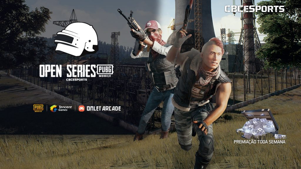 Participe do Open Series de Pubg Mobile