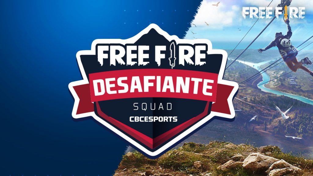 FreeFire Desafiante – Inscrições prorrogadas
